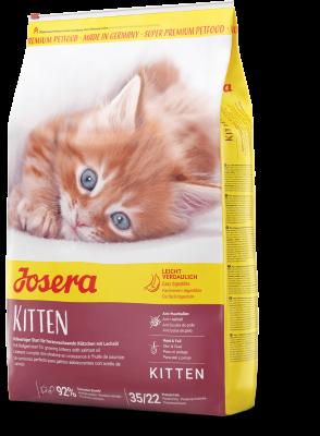 Kitten сухой корм супер-премиум класса компании Josera для котят, кормящих и беременных кошек