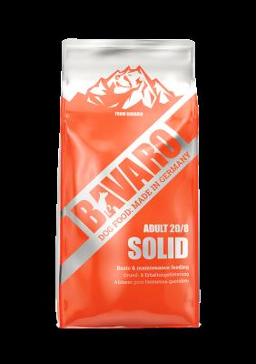 Bavaro Solid (Adult 20/8) обеспечивает базовое питание для пожилых и/или малоактивных собак всех пород